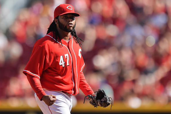 Getty Images - The Reds have failed to pen a long term deal for Johnny Cueto