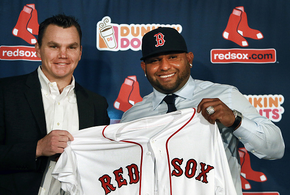 Getty Images - Sandoval joined the Red Sox following another big postseason. But questions about his conditioning and regular season numbers remain