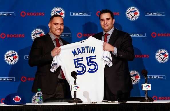 Getty Images/Andrew Francis Wallace - The Blue Jays made a splash adding Russell Martin